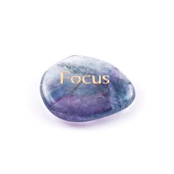 Wunscherfüllung - Stein  Focus , Fluorit