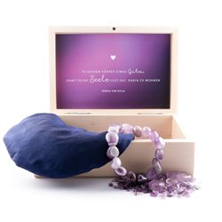"Pad  ""Entspannung pur"" - Amethyst mit Armband"