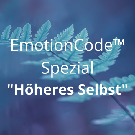 "EmotionCode™️ - Spezial ""Höheres Selbst"""